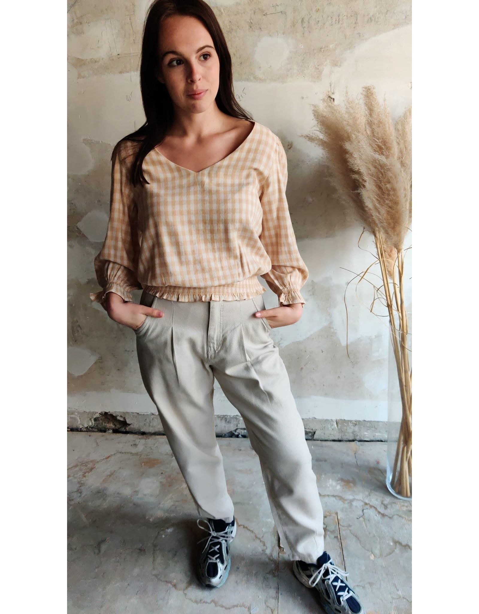 MADDIE SLOUCHY ANKLE PANTS