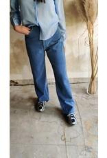 CORDUROY PANTS BLUE