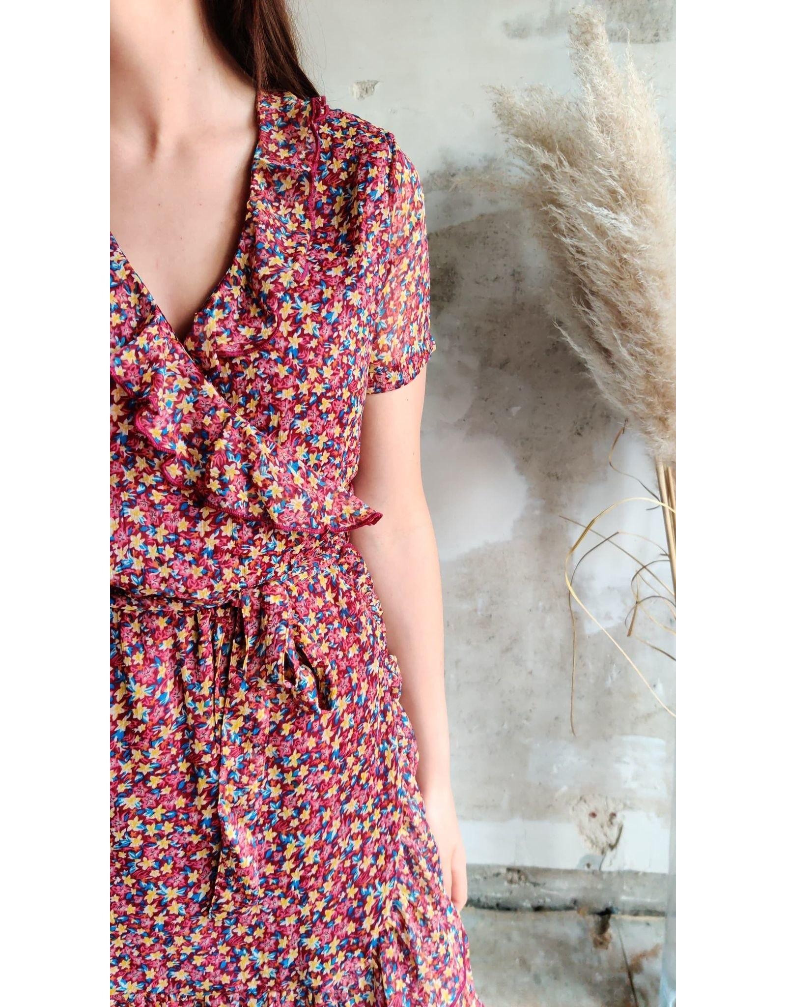 JENNIE FRIL DRESS