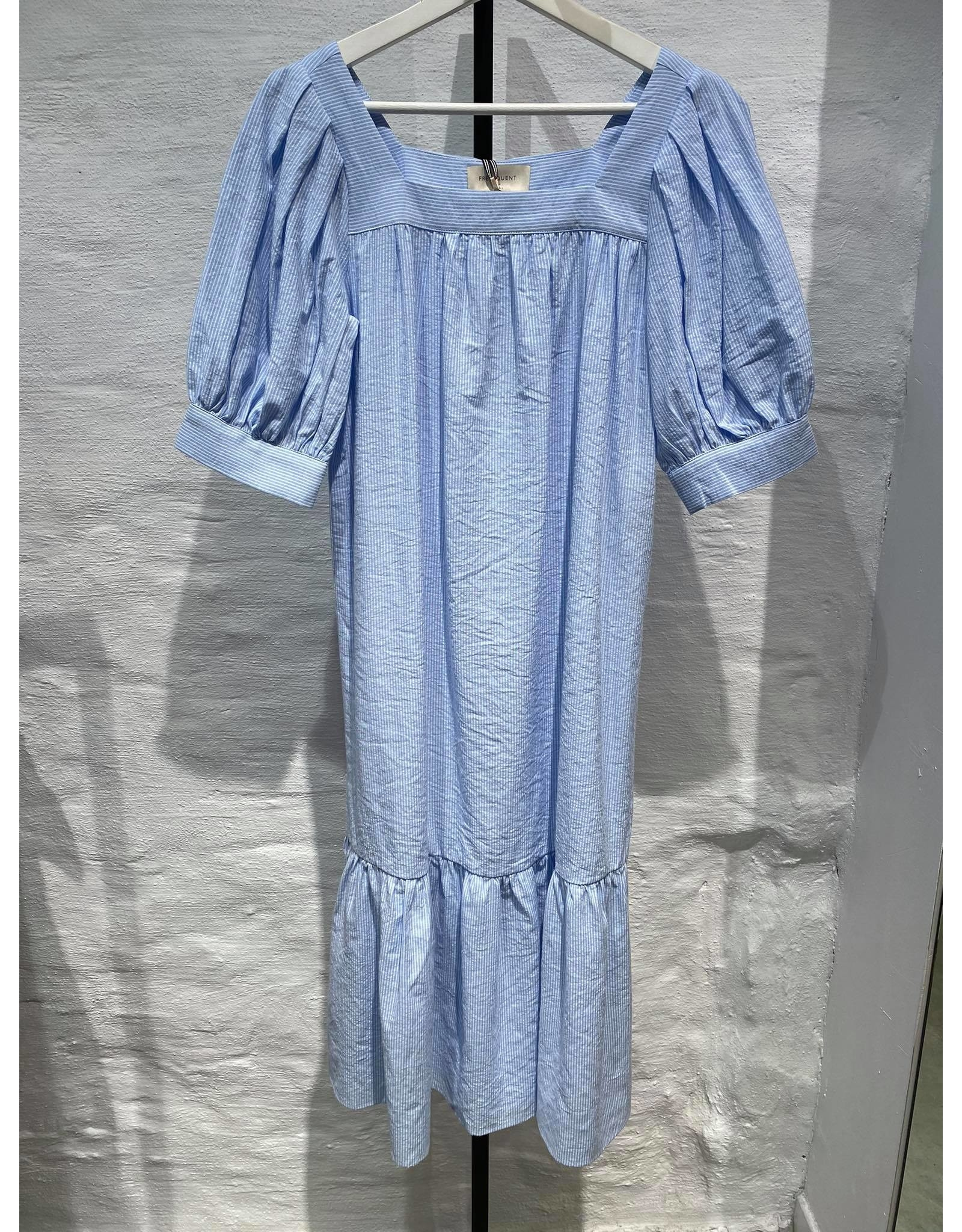 QUANA DRESS BLUE