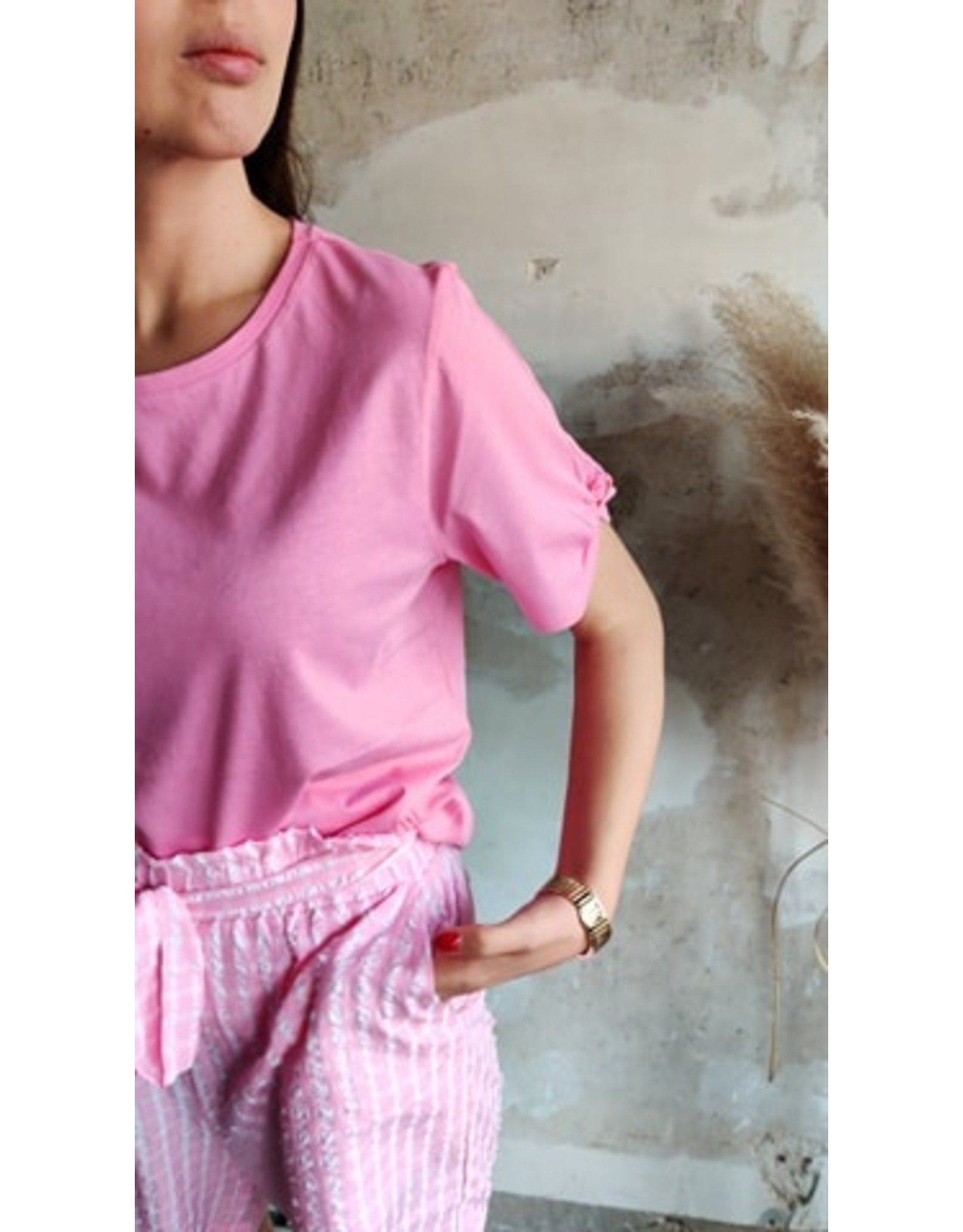KNOT TEE PINK