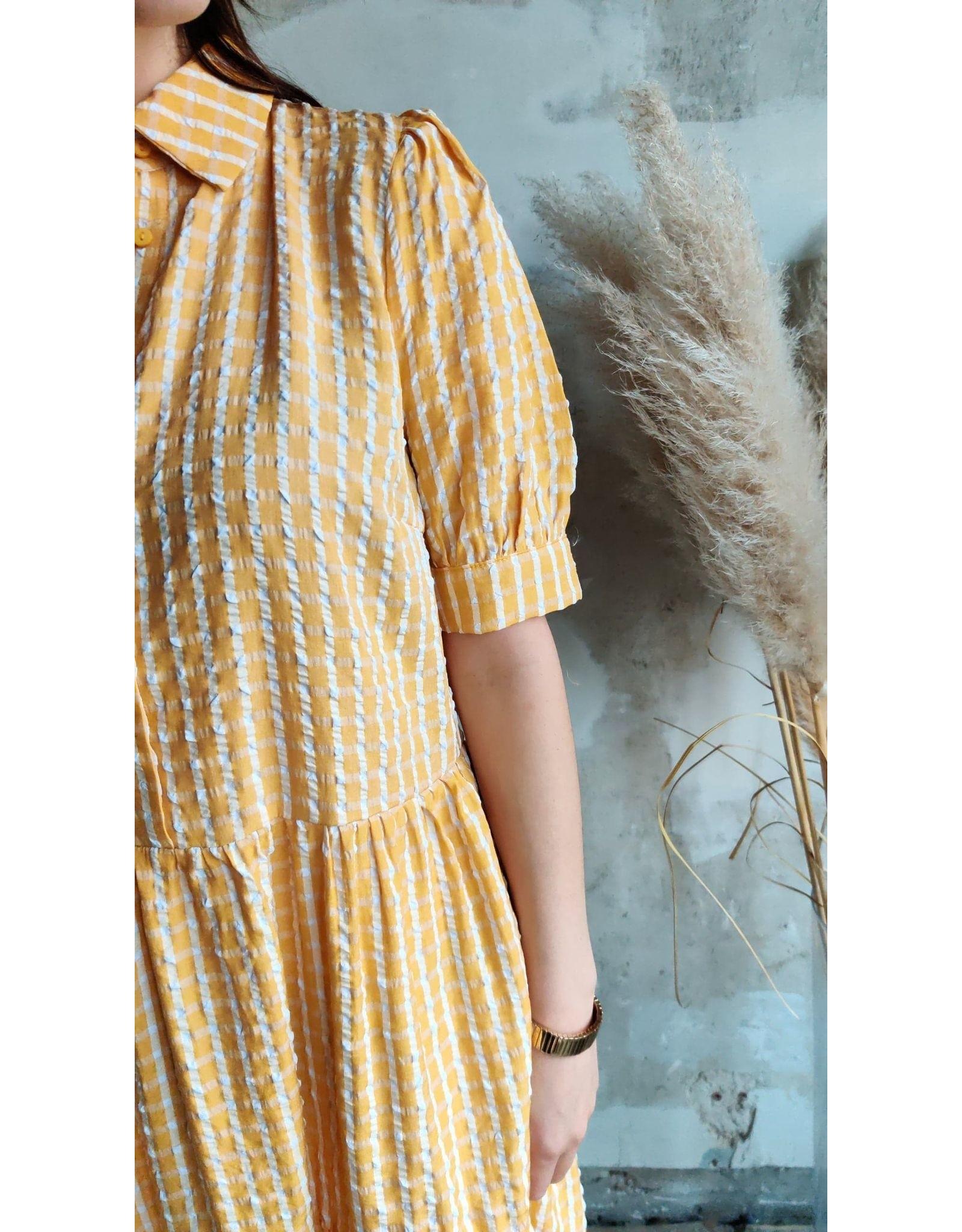 CAT DRESS BANANA CREAM