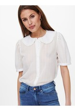 BLOUSE WITH PETER PAN COLLAR WHITE