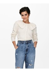 CAMILLE COLLAR CARDIGAN OFFWHITE