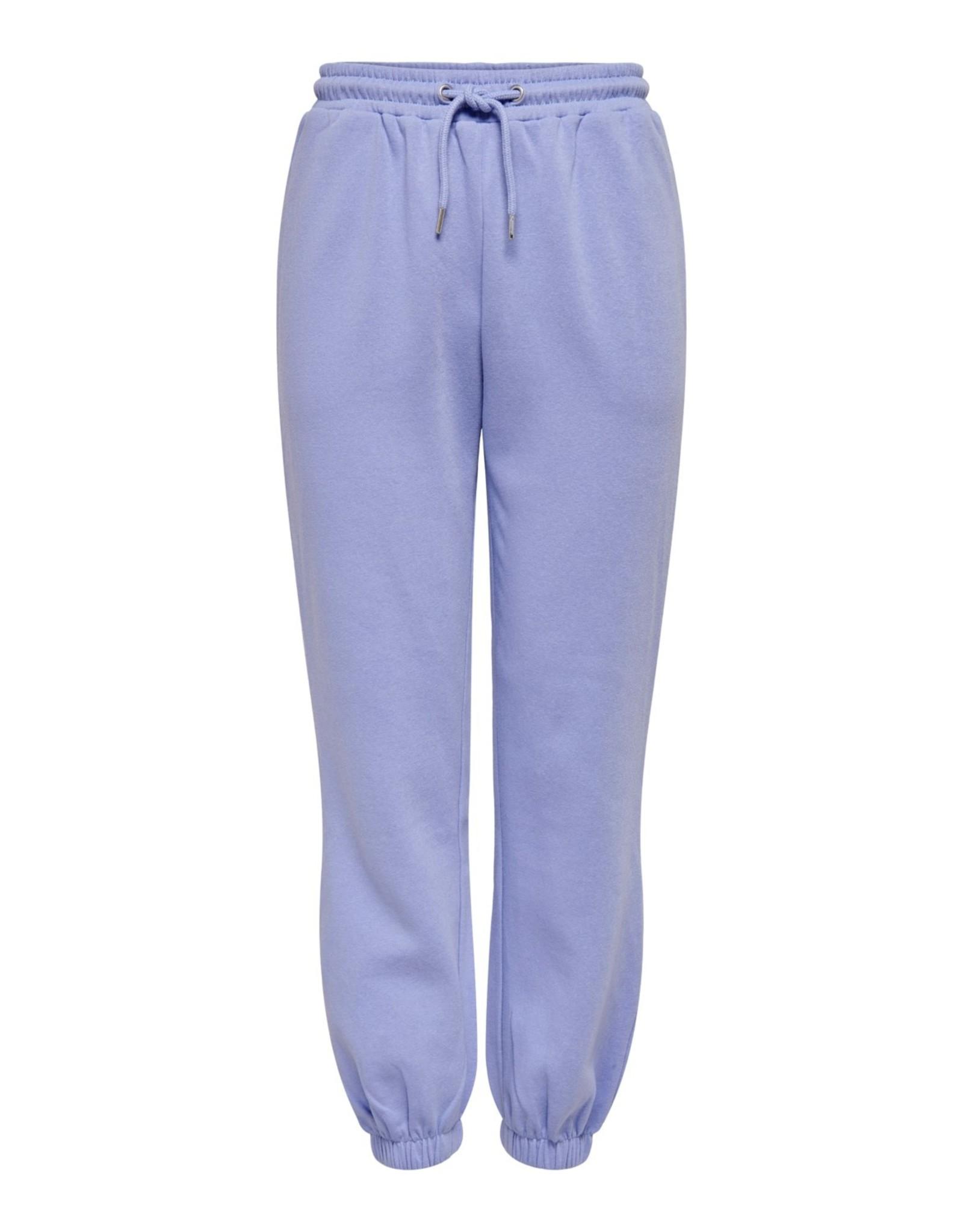 SWEAT PANTS BLUE/LILAC