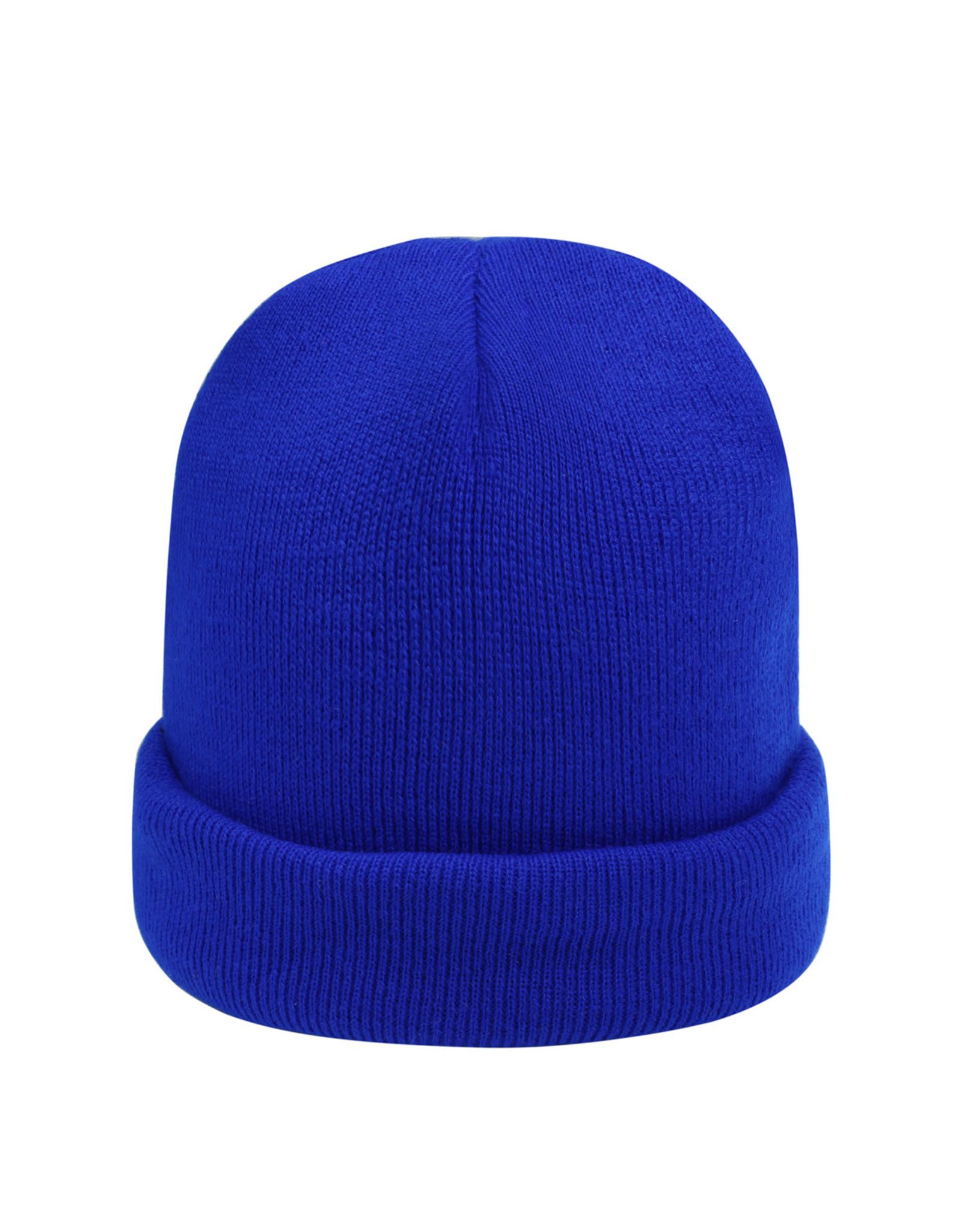 BEANIE CORAL BLUE