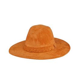 SUEDE HAT CAMEL