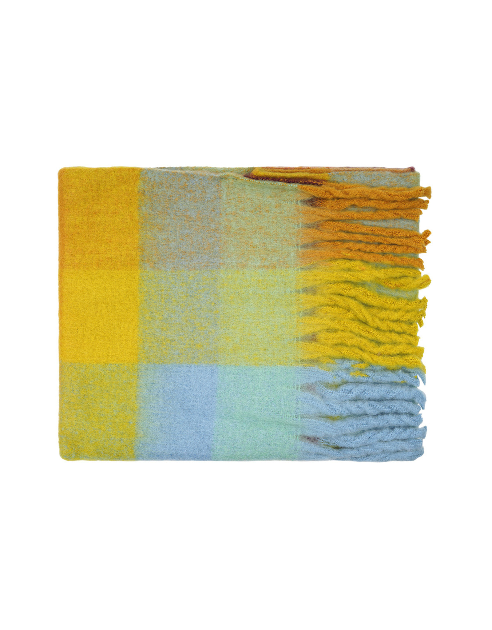 SCARF SQUARE YELLOW