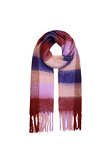 SCARF SQUARE PINK