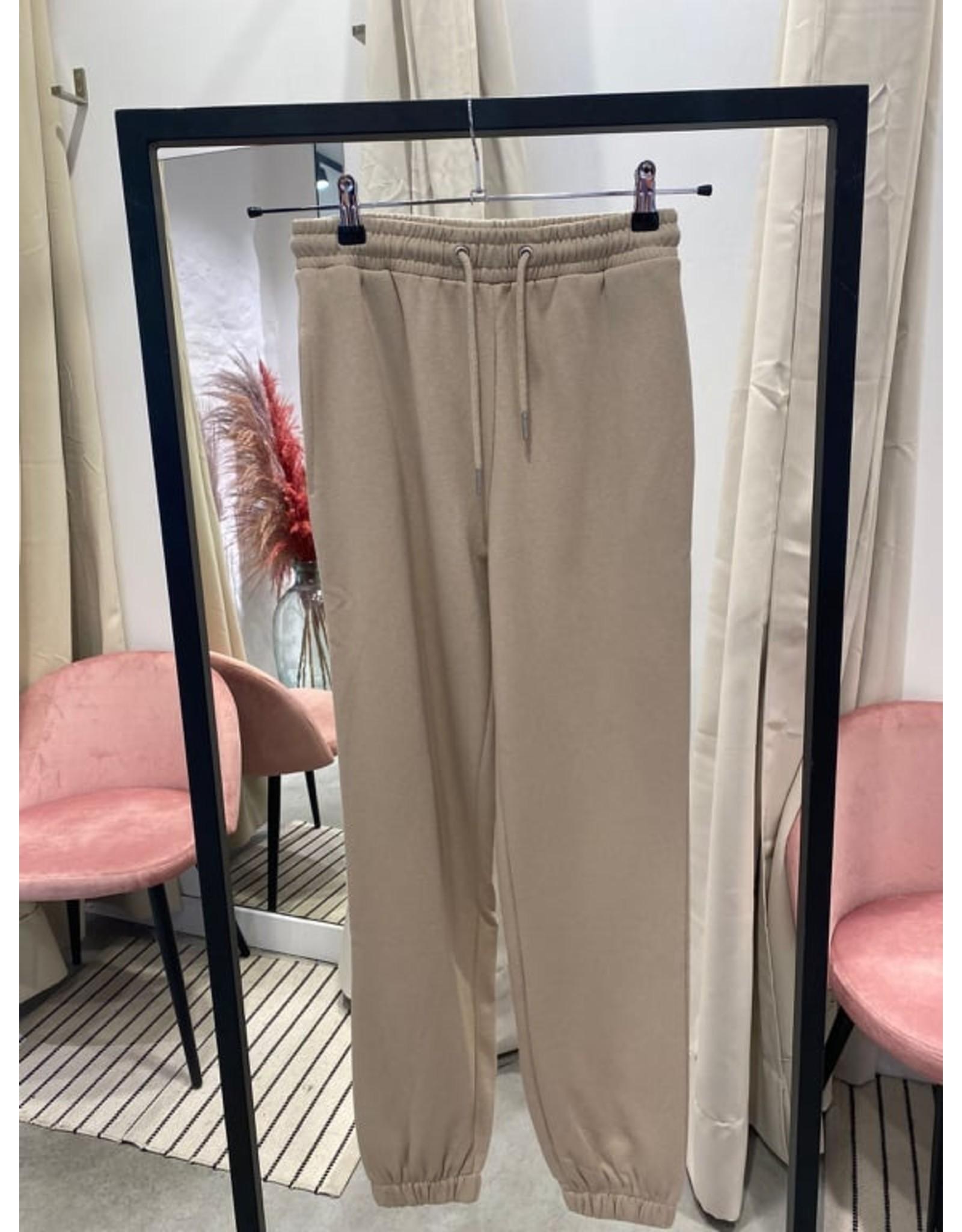 SWEAT PANTS TAUPE