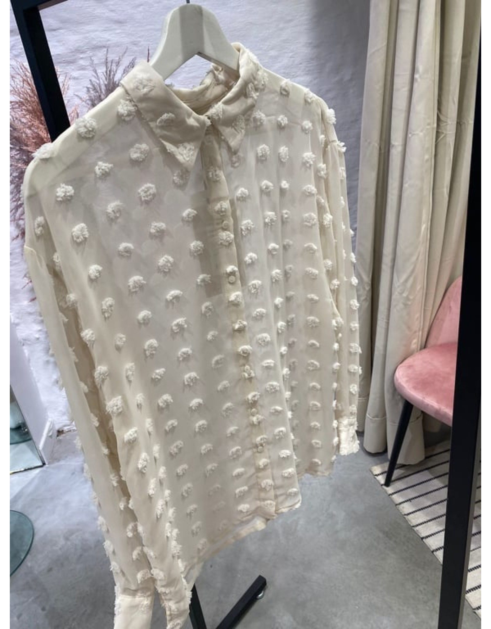 POLLY BLOUSE BEIGE