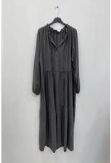 PHEBE DRESS ANTRACIET