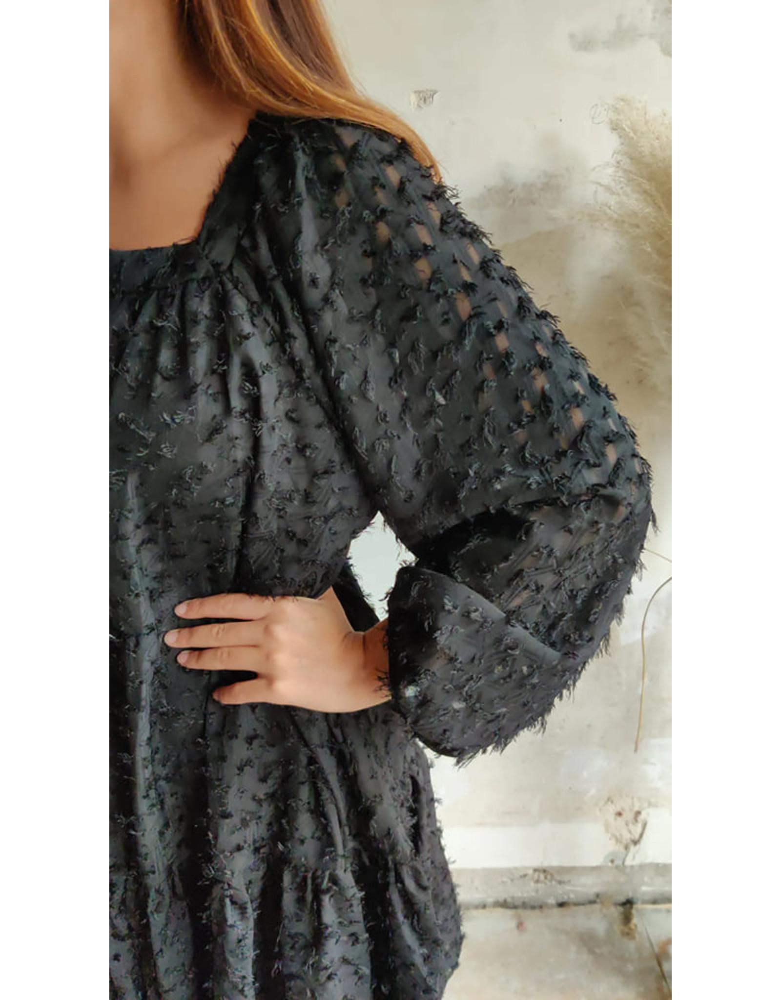 MILLY  DRESS BLACK