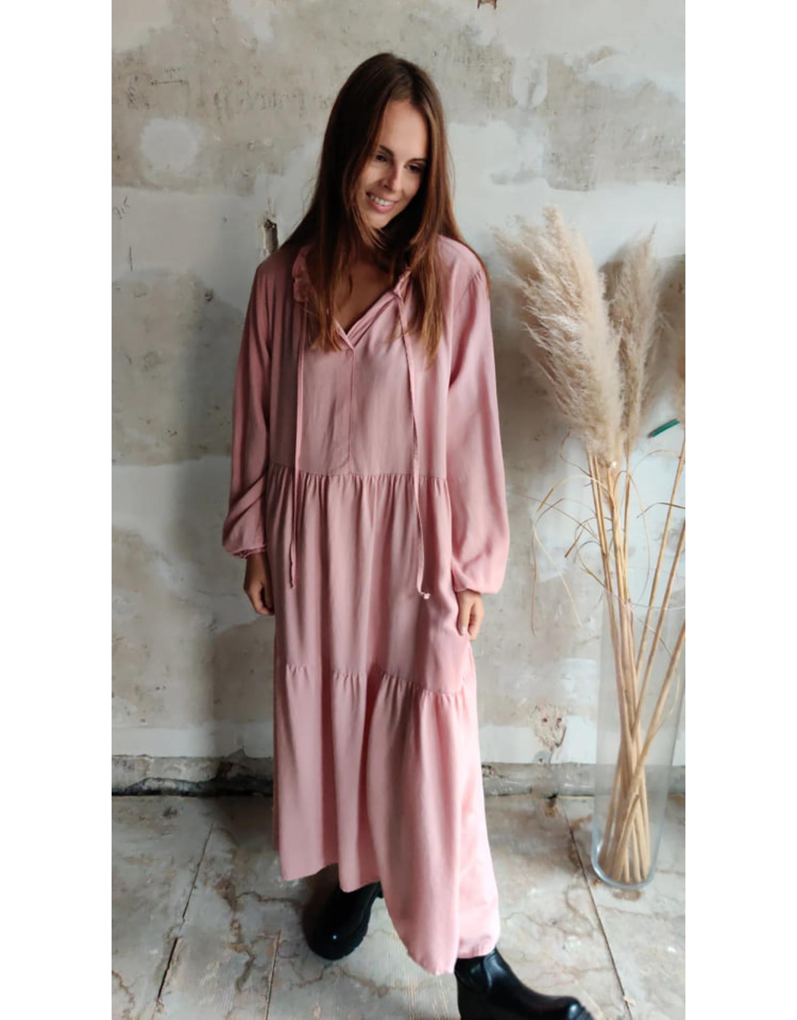PHEBE DRESS ROSE