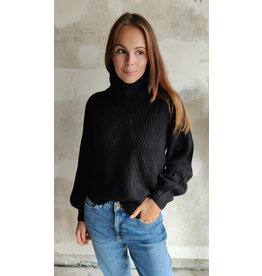 CORY ROLLNECK PULLOVER BLACK