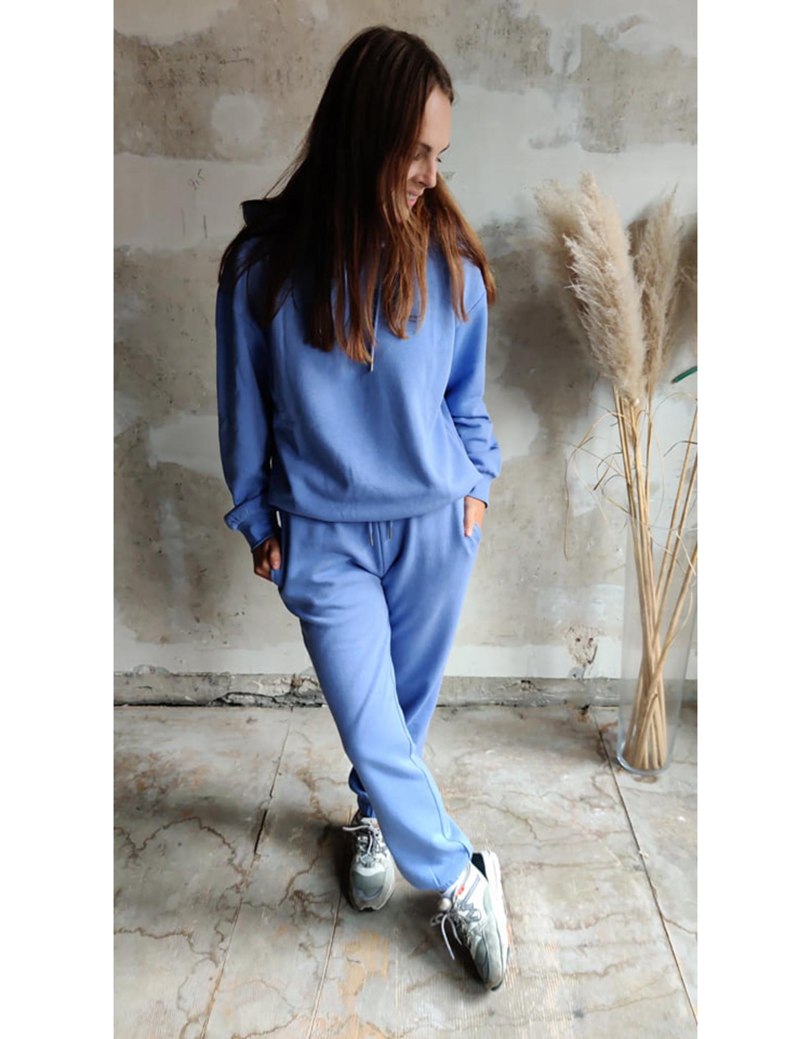 SWEAT HOODIE  BLUE/LILAC