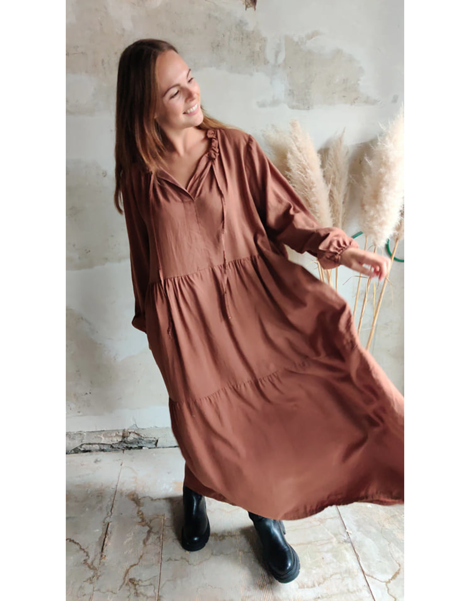 PHEBE DRESS ROEST