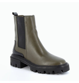 BOOTS KHAKI WITH BLACK DETAIL