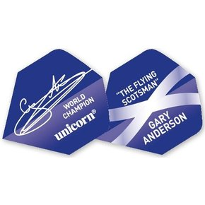 Authentic Gary Anderson Big Wing