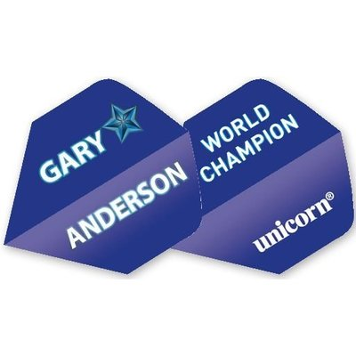 Authentic Gary Anderson World Champion