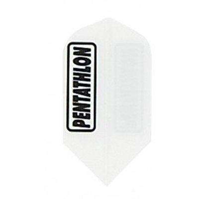 Pentathlon Slim Solid White