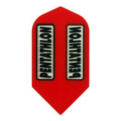 Pentathlon Transparant Slim Red