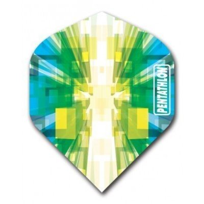 Pentathlon Vizion Star Burst Green