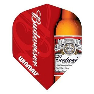 Winmau Budweiser Bottle Design Flight