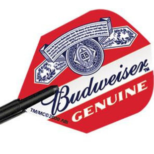 Winmau Budweiser Genuine Flight
