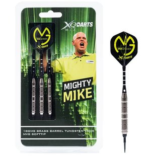 Michael van Gerwen Dartset Brass Soft Darts