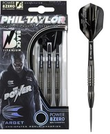 Phil Taylor Power 8ZERO Black Titanium 80% S2