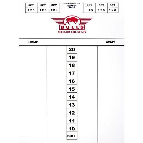 Bull's Darttel Flex 45x30 cm Scoreboard