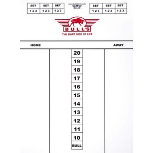 Darttel Flex 60x30 cm Scoreboard