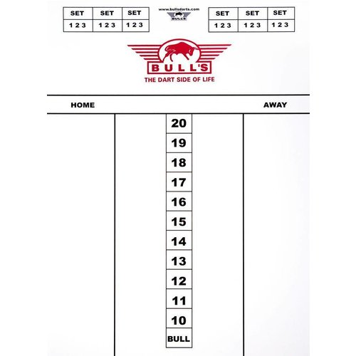 Bull's Darttel Flex 60x30 cm Scoreboard