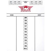 Bull's Darttel Flex 25x35 cm Scoreboard