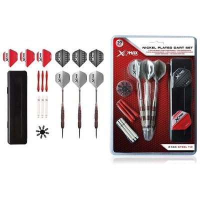 XQMax Nickel Plated Dartset