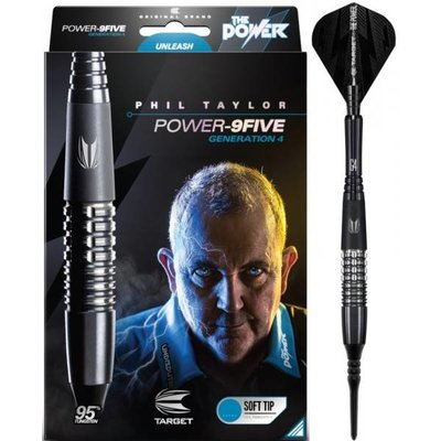 Phil Taylor Power 9FIVE Gen 4 95%  Soft Darts
