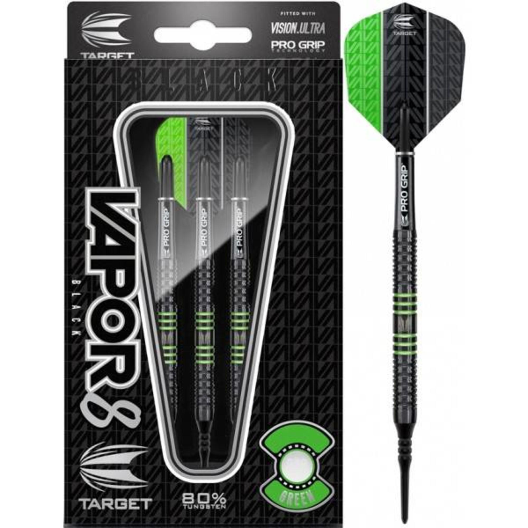 target vapor 8 black green 80 soft darts. Black Bedroom Furniture Sets. Home Design Ideas