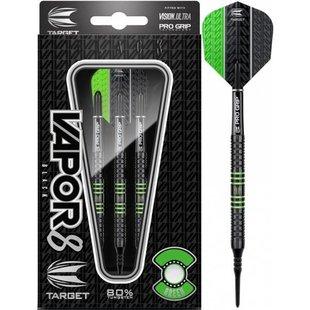 Target Vapor-8 Black Green 80% Soft Darts