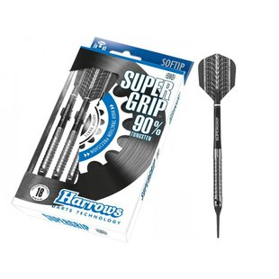 Harrows Supergrip 90% tungsten Soft Darts