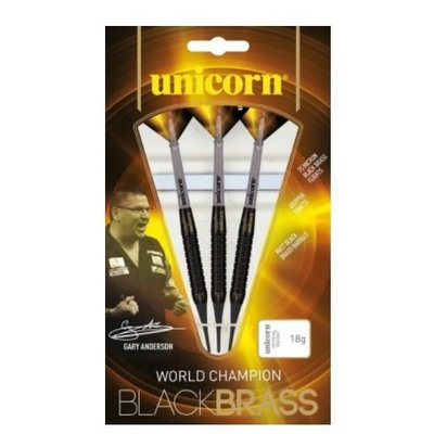 Unicorn Gary Anderson World Champion Black Brass Soft Darts