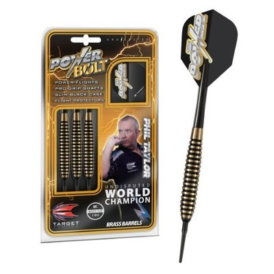 Power Bolt Brass Taylor Soft Darts