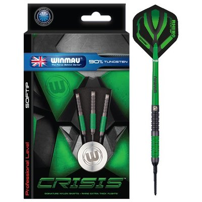 Winmau Crisis 90% Ringed Soft Darts