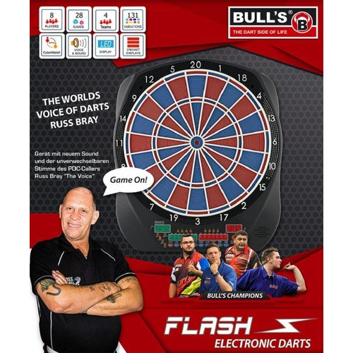 Bull's Germany BULL'S Flash Russ Bray Sound Elektronische Dartscheibe