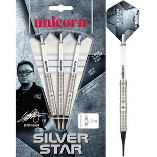 Unicorn Seigo Asada Silverstar 80% Soft Darts