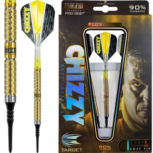 Target Dave Chisnall Cortex Grip 90% Soft Darts