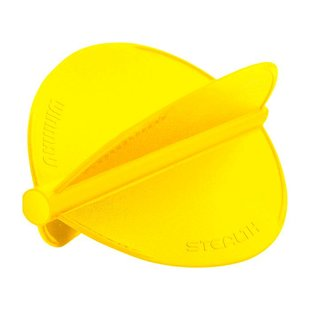 Winmau Stealth Flights Pear Yellow