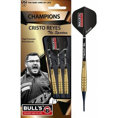 Bull's Cristo Reyes Brass Softdarts