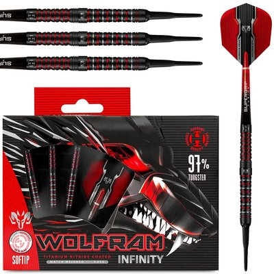 Harrows Wolfram Infinity 97% Softdarts