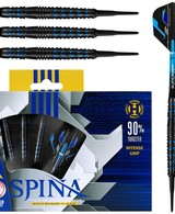Harrows Spina Black & Blue 90% Soft Darts